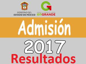 Resultados del examen de admision 2017 edomex