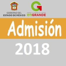 admision 2018 edomex